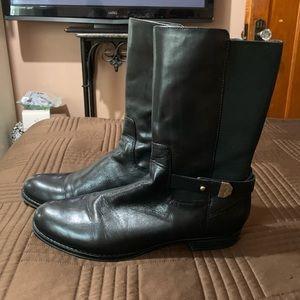 Issac Mizrahi Leather Boots